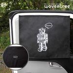 우븐트리 차량용 양면 자석 햇빛가리개 삐리삐리봇 2