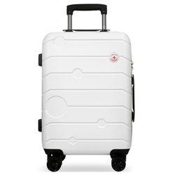 비아모노 VAGS9015 화이트 20인치 캐리어 여행가방