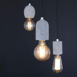 [LED] 코나 3등 펜던트-에디슨
