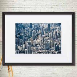 도시풍경포스터 매트액자 소품액자 A4포스터 가로 063