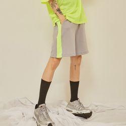 neon line string shorts (4 color) - UNISEX