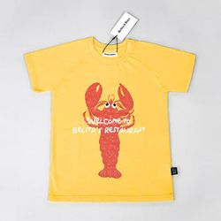Lobster Yellow T-shirts