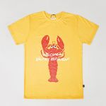 Lobster Yellow T-shirts (for Adult)