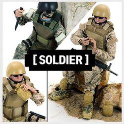 35cm 나라별 군인 구체관절인형 군인시리즈 soldier