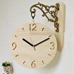 (ksjp478)원목 화인 싸이클 양면시계