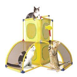 프레임 고양이 놀이터