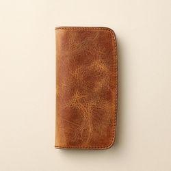 수제가죽 장지갑 Bifold long wallet JB812-011