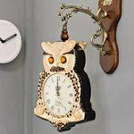 (kmkz0445)왕자부엉이 양면시계(골드)