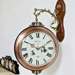 (kmkz0440)메탈골드 양면시계(블랙링)