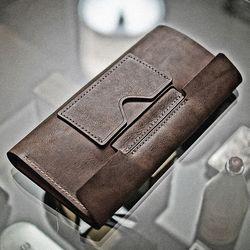 [ GETHIS ] 천연가죽 심플 펜홀더 트래블러스 노트