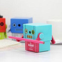KC인증 감성 로봇디자인 안전 연필깎이 Mr. Robot