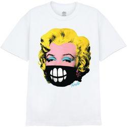 [사쿤][티셔츠]T-MASK MONROE(WHITE)