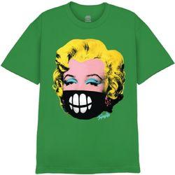 [사쿤][티셔츠]T-MASK MONROE(GREEN)