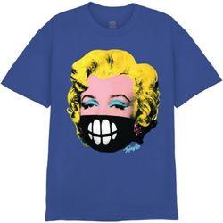 [사쿤][티셔츠]T-MASK MONROE(BLUE)