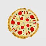 [하루특가] [노즈워크 토이] 얌얌스너플 피자
