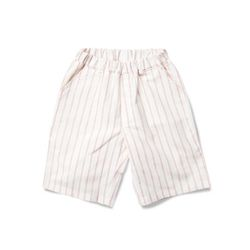 WAVE STRIPE PANTS - RED