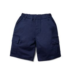 BASIC CARGO SHORTS - NAVY