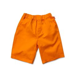 BASIC SHORTS - ORANGE
