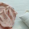 체리 4중거즈 블랭킷 - 핑크