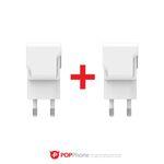 2매입 고속충전기 빠른충전기 2포트 USB형