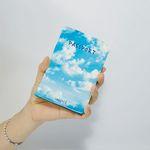 이니셜 하늘 여권케이스