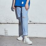 crump x thisrespect wide cutting jeans(CP0023)