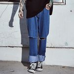 crump x thisrespect wide cutting jeans(CP0023-1)