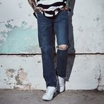 crump x thisrespect new wave crop jeans(CP0025)