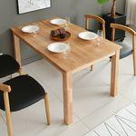 라포레 엘더 원목 4인 식탁 (의자별도)