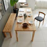 라포레 엘더 원목 8인 식탁 (의자별도)