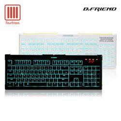 비프렌드 GK4 LED 팬터그래프 게이밍 키보드