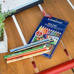 스테들러 노리스클럽 슈퍼점보 129 10색 색연필 세트