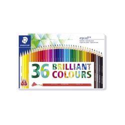 스테들러 에고소프트 칼라 색연필 세트 157M36