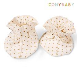 [무료배송] [CONY]오가닉도트발싸개(아기발싸개)