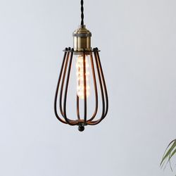 [LED] 버밍1등 펜던트-블랙