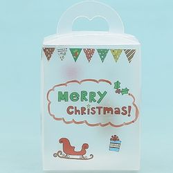 크리스마스 사탕통꾸미기(투명스티커포함)