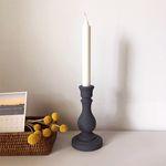 그레이 wood candle holder (우드촛대  초받침대)