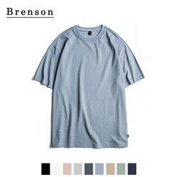 루즈핏 프리미엄 코튼 티셔츠 9컬러