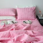 써클인견 핑크 여름이불-퀸기본세트