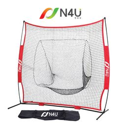 N4U(엔포유)N4U-BP7 야구7피트 피칭 타격 연습 백네트