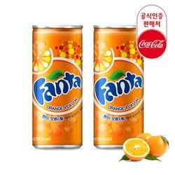 [무료배송] 코카콜라 공식 환타 오렌지 250ml x 30캔