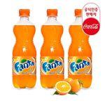 [무료배송] 코카콜라 공식 환타 오렌지 600ml x 24PET