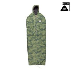 POLER STUFF - Shaggy Napsack (Green Furry Camo)