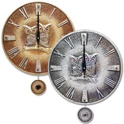SWS3854 부엉이 추벽시계 (국산)