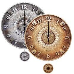 SWS3851 해바라기숫자 추벽시계 (국산)