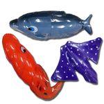 물속친구-가오리돌고래오징어-수중작동워터토이