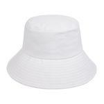Minimal Bucket Hat (white)