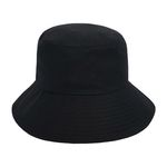 Minimal Bucket Hat (black)