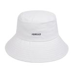 Signature Bucket Hat (white)