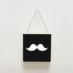 북유럽미니액자 프레임 Mustache
